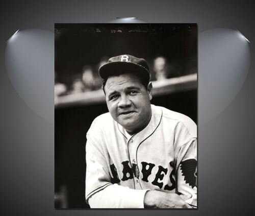 A1 A3 A2 A4 sizes Babe Ruth Vintage Baseball Large Poster