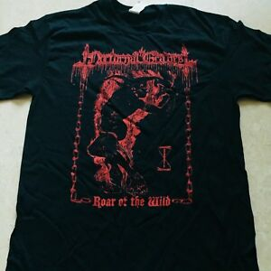 NOCTURNAL-GRAVES-Roar-Of-The-Wild-T-SHIRT-SIZE-MEDIUM