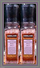 Kirkland Himalayan Pink Salt 2 X 13 oz Bottle With Grinder-KOSHER PARVE