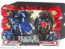 TransFormers ROTF Super Tuner Throwdown Autobot BLOWPIPE VS Decepticon SIDEWAYS