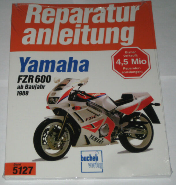 Repair Manual Yamaha FZR 600 Genesis, Model Years from 1989