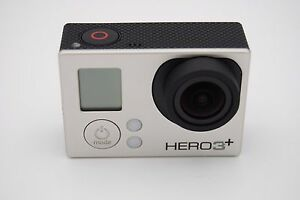 Gopro HERO 3+ Plus Silver Edition Action Sport Camera Camcorder CHDHN-302 818279010855