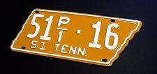 Tennessee License Plate RESTORATION SERVICE 1915 1928 1929 1930 1931 1951 1976