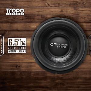 CT-Sounds-Tropo-6-5-034-D4-200-Watt-RMS-Subwoofer-6-5-Inch-Dual-4-Ohm-Car-Power-Sub