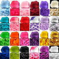 1000pcs Various Multi Colors Silk Flower Rose Petals Wedding Party Decorations