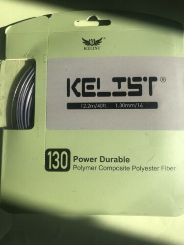 Kelist 130 Power Durable Polyester Fiber Tennis String Set