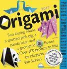 Origami Page-a-day Calendar 2017 by Margaret Van Sicklen 9780761187912