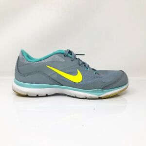 Nike-Womens-Flex-TR-5-724858-004-Grey-Running-Shoes-Lace-Up-Low-Top-Size-8-5