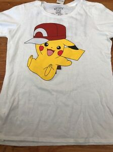 f245ab5da Mighty Fine Pokémon Junior's Size XXL Pikachu Tee Shirt Plus 2XL | eBay