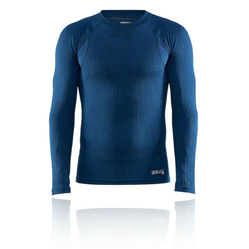 Craft Mens Active Extreme X Crew Neck Long Sleeve Top Blue Sports Running