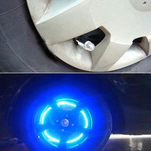 Durable Led Neon Valve Dust Cap Light Cool For Bike Car Motorcycle Wheel Valve
