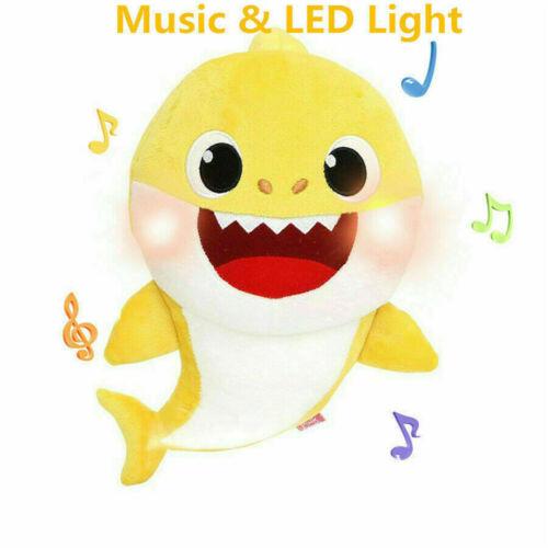 Baby Cartoon Shark Teddy Plüsch spielt weiche Singpuppen Geschenk