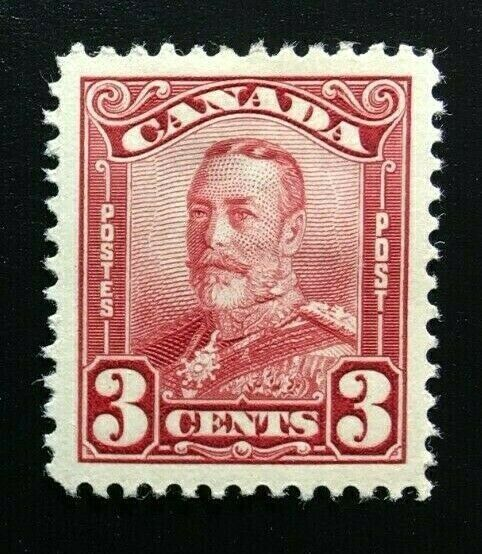 Canada #151 VF MH, King George V Scroll Issue Stamp 1928 (1)
