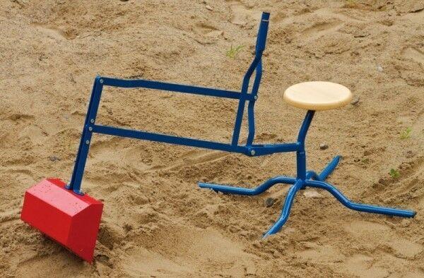 Sandbagger mit Standardfuß für Sandksten Kindergarten