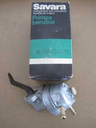Fiat 124 Coupè//Spider//Sport 132 POMPA BENZINA SAVARA 9.06.044.11 125-131