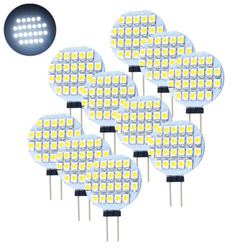 Pack of 10 Spot Bulb 4W 6W GU10 MR16 LED Bulbs Day White Warm White SMD Light