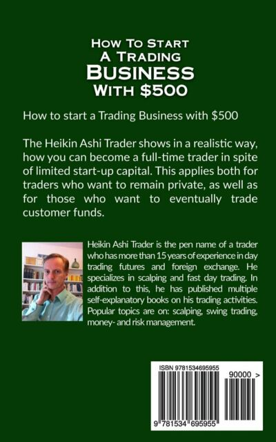 How to Start a Trading Business with $500 by Heikin Ashi Trader (Paperback  / softback, 2016)