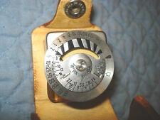 Lieca Mini Metraphot 2 Light Meter In Leather Case, Germany