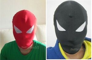 Lycra-Spandex-Zentai-Costume-Halloween-Party-Mask-amp-Hood-Costume-Accessory