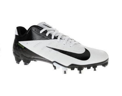 NEW Mens Nike Vapor Talon Elite TD Low Football Cleats White/Black Retail