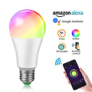 WiFi-Smart-Light-Bulb-15W-RGB-Dimmable-LED-Light-Lamp-for-Alexa-Google-Home