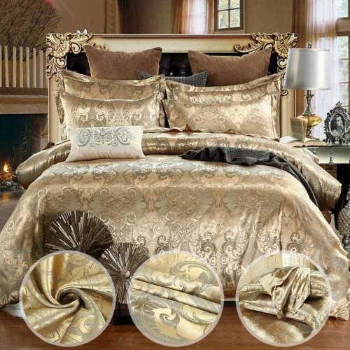 Bettwäsche Luxus Bettgarnitur Bettbezug 150×200 cm 200×230 cm 240x220cm  DE