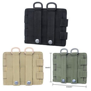 Tactical-Military-Molle-Nylon-Radio-Walkie-Talkie-Holder-Bag-Magazine-Pouch