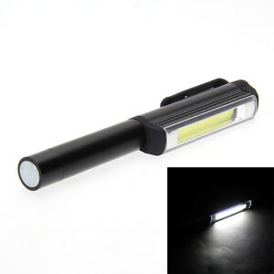 COB MINI//PEN//POCKET MAGNETIC INSPECTION WORK//HAND LAMP//LIGHT//TORCH BLACK