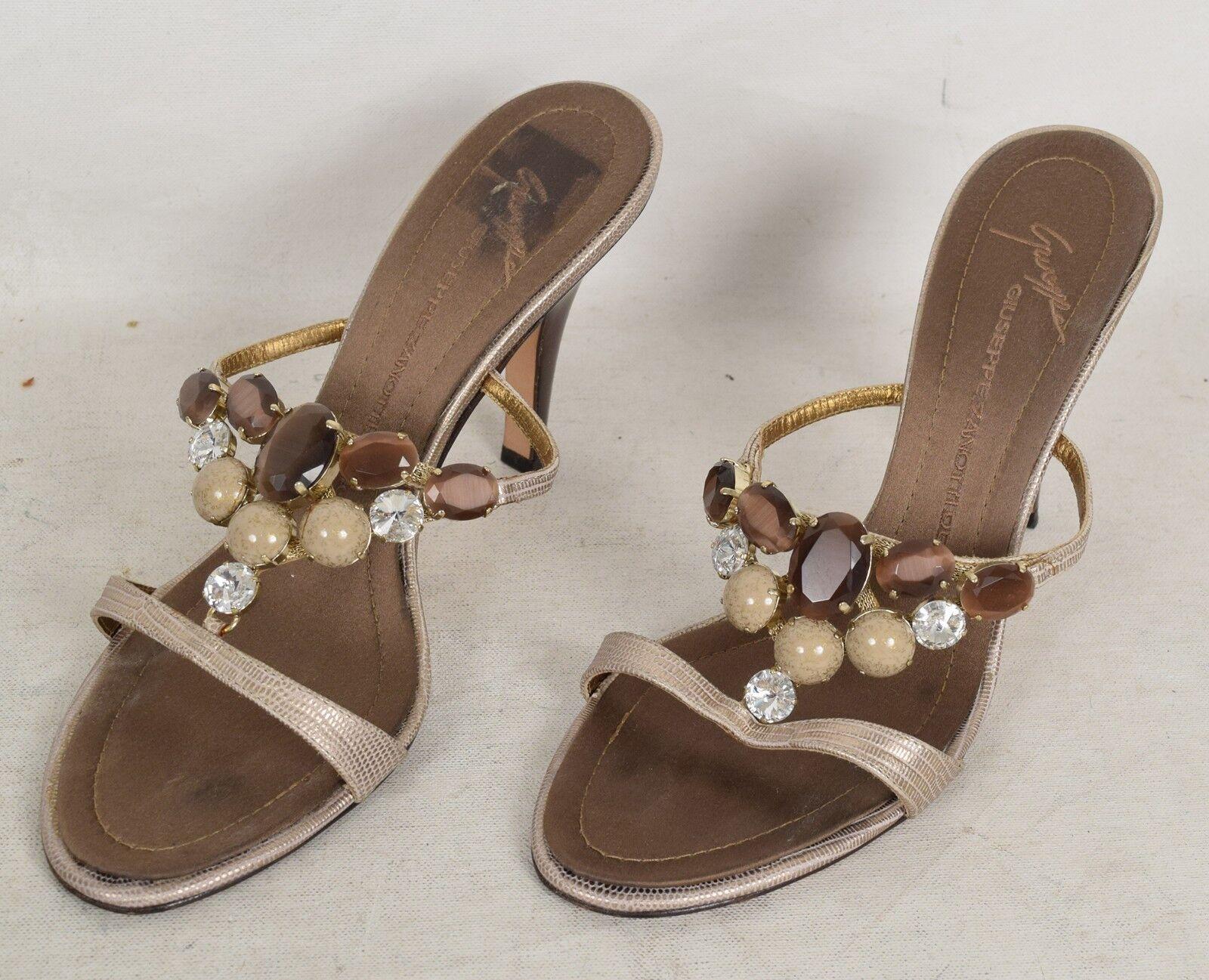 Giuseppe Zanotti Sandal Heels Leather Zambia Tung 38.5 38.5 38.5 ab3bb4