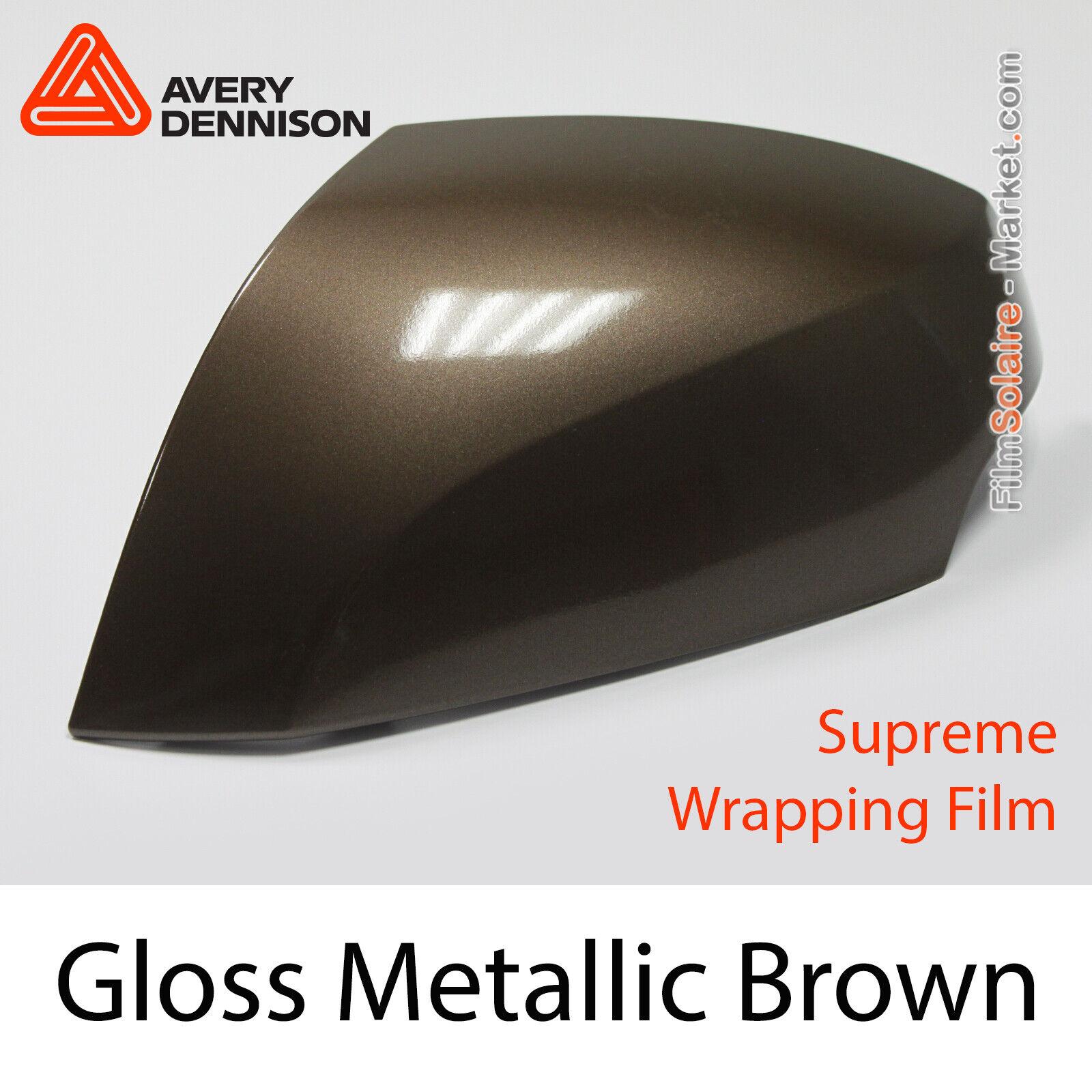 Gloss Metallic braun - Avery Dennison Supreme Wrapping Folie,Abdeckung Cb1630001