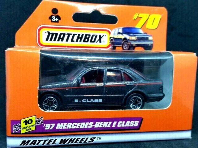 Matchbox-Series 10 -'97 MERCEDES-BENZ E-CLASS- #70-1/64 - Die Cast Car 1998 Box