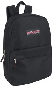 "Men Women Backpack Bookbag School Travel Medium Laptop Rucksack Zipper Bag 17"""