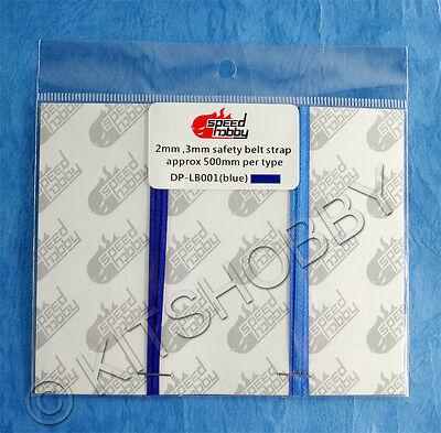 blue Speed Hobby Seatbelt Material 1/25 Model Kits 1/24 For 1/18