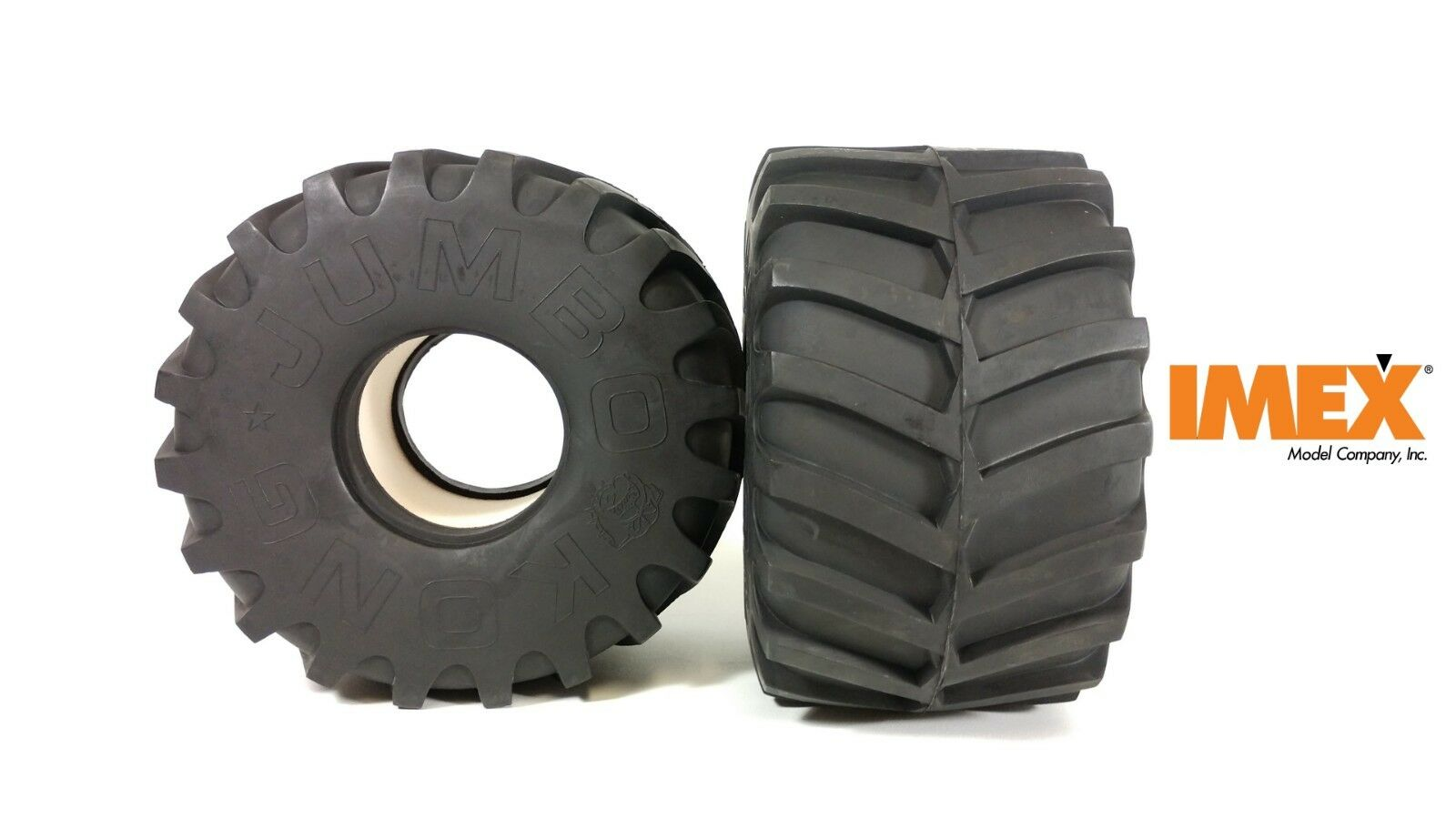 IMEX Jumbo Kong Tires (8.5  Tall x 5  Wide Tires ) (1 Pair)