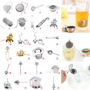 Teeei-Teekugel-Teeball-Tee-Teesieb-Teefilter-Edelstahl-Gewuerzkugel-Teekorb