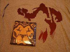warcraft flag may 2016 Loot crate gaming & World of tshirt Size XL New