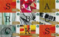 STARBUCKS Gift Cards Lot $0 DOLLAR VALUE Collector's Item Hard to Find Designs