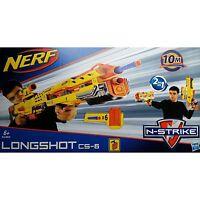 Hasbro Nerf N-strike Elite Longshot Blaster 2-in-1, Nerf Gun