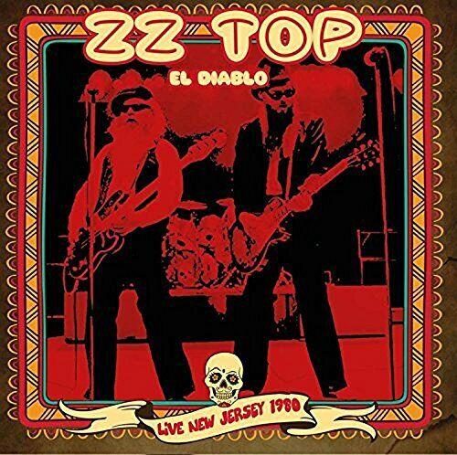ZZ TOP - EL DIABOLO...LIVE NEW JERSEY 1980  2 CD NEW