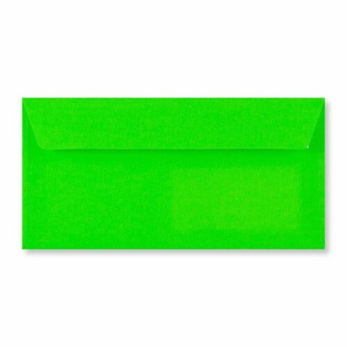 110x220 mm DL Neon Green Envelope