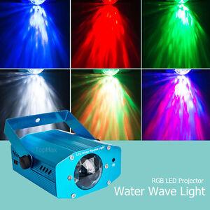 RGB-FARO-LUCE-STROBOSCOPICA-DA-DISCOTECA-DJ-LAMPADA-MULTICOLOR-LED-Telecomando