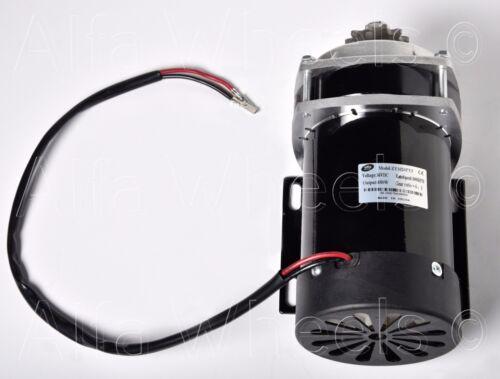 Motor w CONTROLLER 650 W 36V Gear Reduction 6:1 electric f eATV GoKart Trike DIY