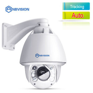 Anbvision 1200TVL CCTV 30x ZOOM Auto Tracking Waterproof DOME PTZ IR Camera US