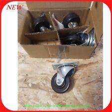 4 Pack 2 Swivel Rubber Caster Wheels R2