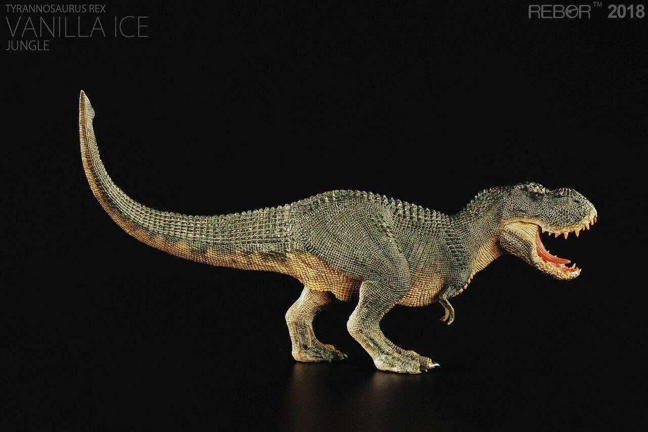 Rebor tyrannosaurus rex vanille - dschungel - variante 1 - skala