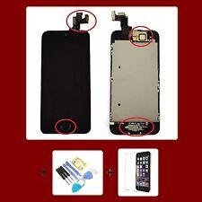 Apple iPhone 5S / SE RETINA LCD DISPLAY KOMPLETT VORMONTIERT Front Schwarz Black