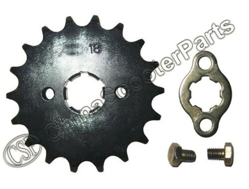 18 Tooth 420 428 17MM 20MM Sprocket For Taotao Sunl Honda Dirt bike ATV