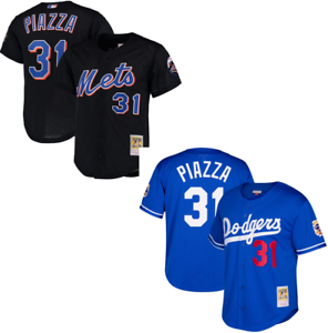 premium selection f6fe2 058bc Details about Mike Piazza MLB Mitchell and Ness Batting Practice Jersey