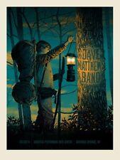 Dave Matthews Band Poster 2014 SPAC Saratoga Springs NY N1 #/920 Rare!!!