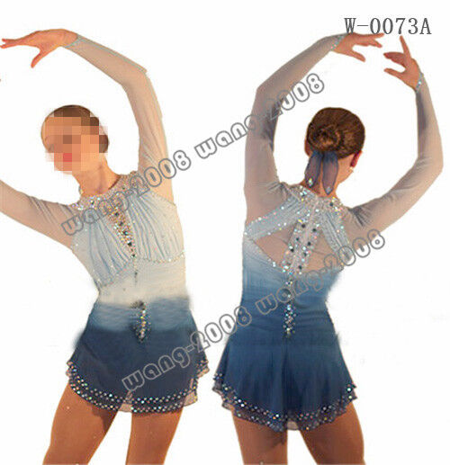 Figure Skating Competition Dress Ice Skating  Training Dress Costume G  Y127  factory outlet store